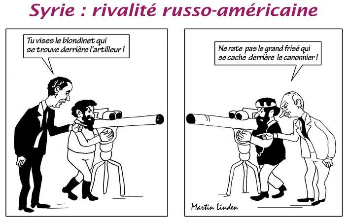 Obama vs Poutine