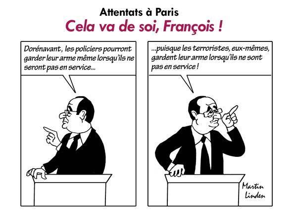 Hollande et le terrorisme