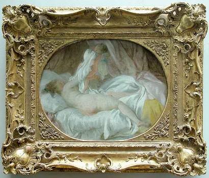 Les surprises de Fragonard (La Chemise enlevée)