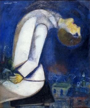 Marc Chagall, L'Homme à la tête renversée