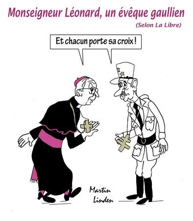 Mgr Léonard, évêque gaullien