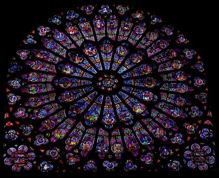 L'aventure des cathédrales (rose nord de Notre-Dame de Paris)