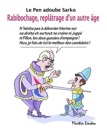 Le Pen et Sarko