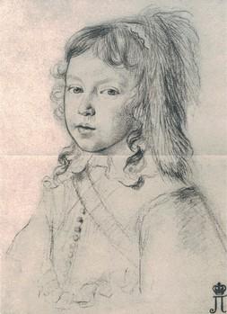 Louis XIV, roi de la démesure (portrait du roi Louis XIV enfant par Claude Mellan)