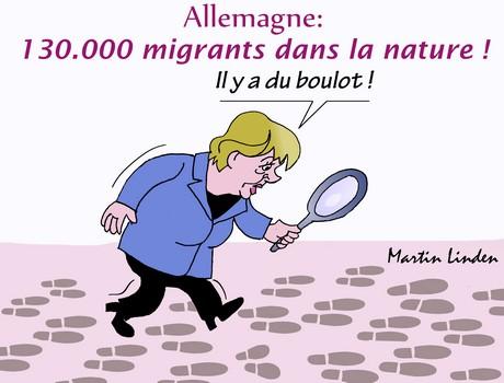 Merkel et les migrants