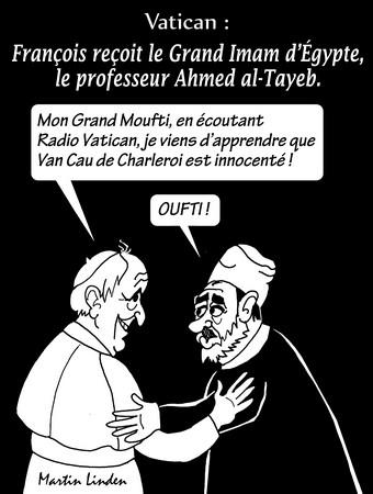 Le pape et le moufti