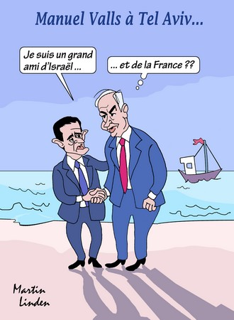 Valls à Tel Aviv