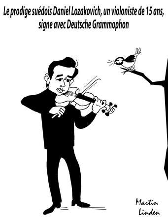 Violoniste prodige
