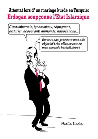 Erdogan et les Kurdes