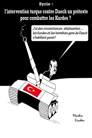 Erdogan part en guerre