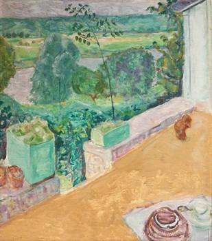 Bonnard Chien sur la terrasse