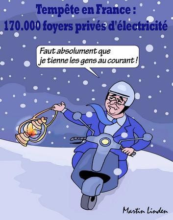 Neige en France