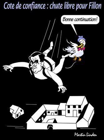 Chute libre pour Fillon