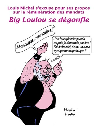 Louis Michel s'excuse
