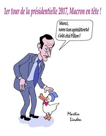 Macron remercie le Canard
