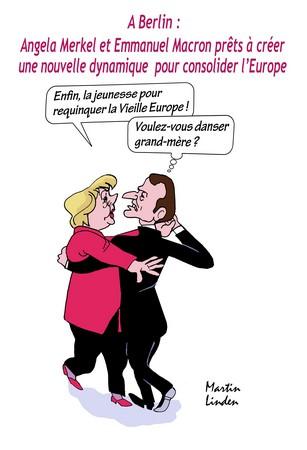 Duo Macron-Merkel