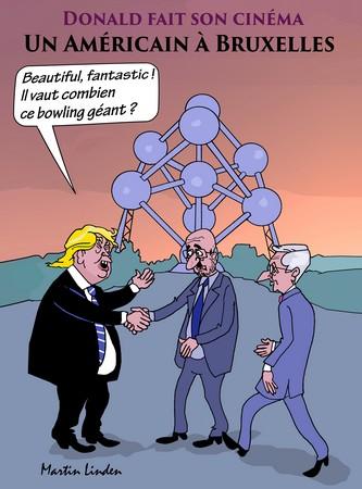 Trump à Bruxelles