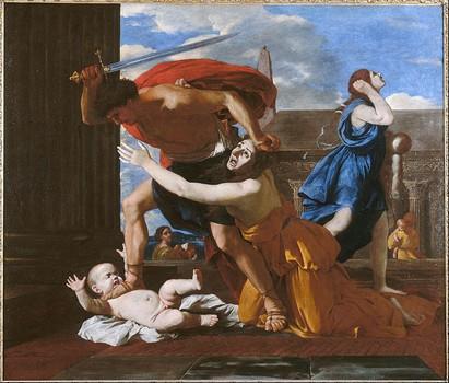 Le Massacre des Innocents – Poussin, Picasso, Bacon (tableau)