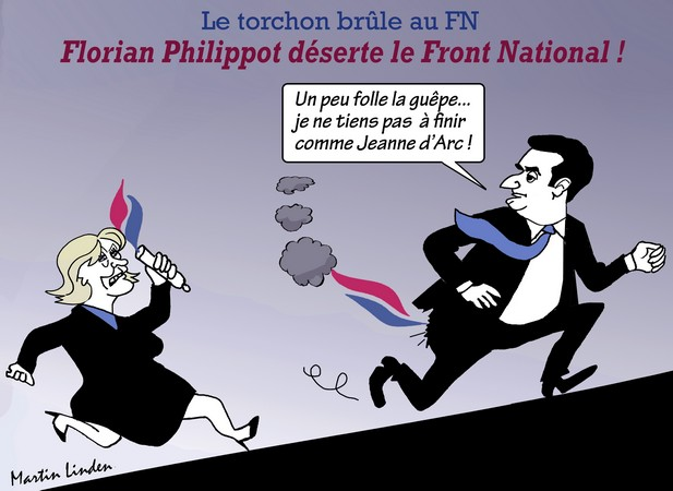 Philippot quitte le FN