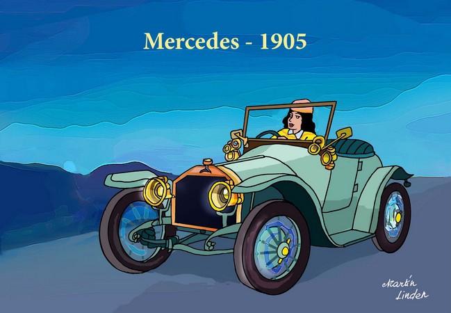 AUTO 1905 MERCEDES