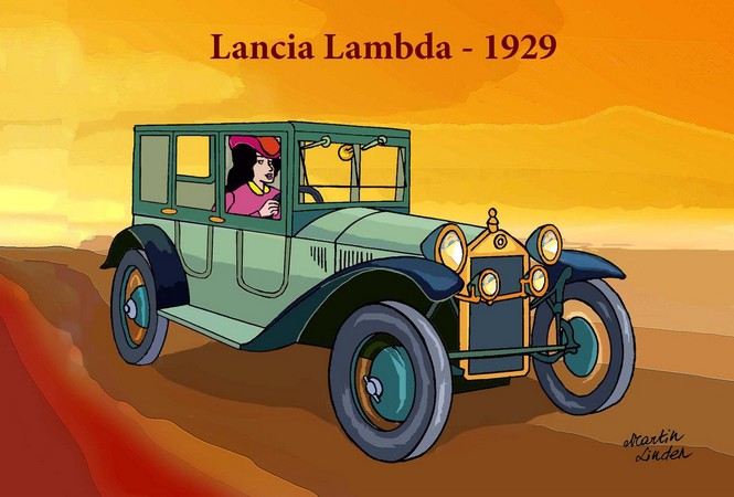 AUTO 1929 Lambda