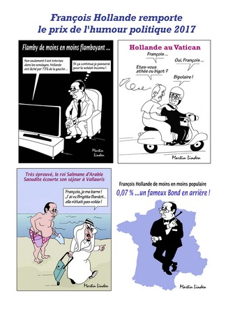 Hollande humoriste