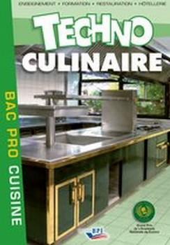Techno Culinaire Bac Pro 3 ans