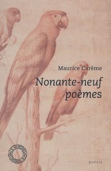 Nonante-neuf poèms de Maurice Carême