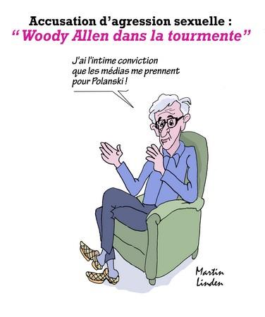 Woody Allen dans la tourmente