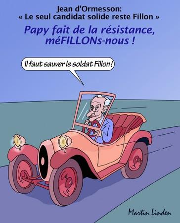 D'Ormesson soutient Fillon