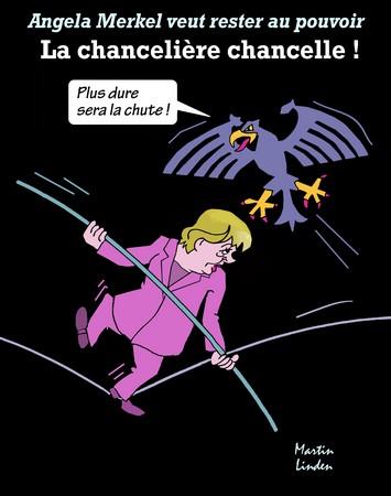 Merkel veut rester au pouvoir